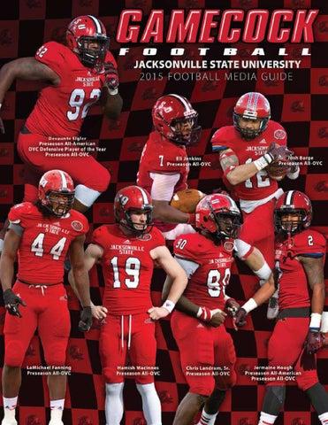 2015 Jacksonville State Football Media Guide by Jacksonville State ... c880efcc1