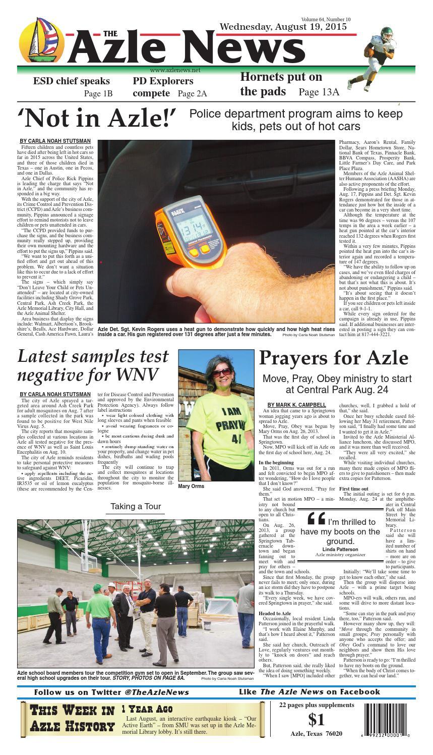 The Azle News by Admin - issuu