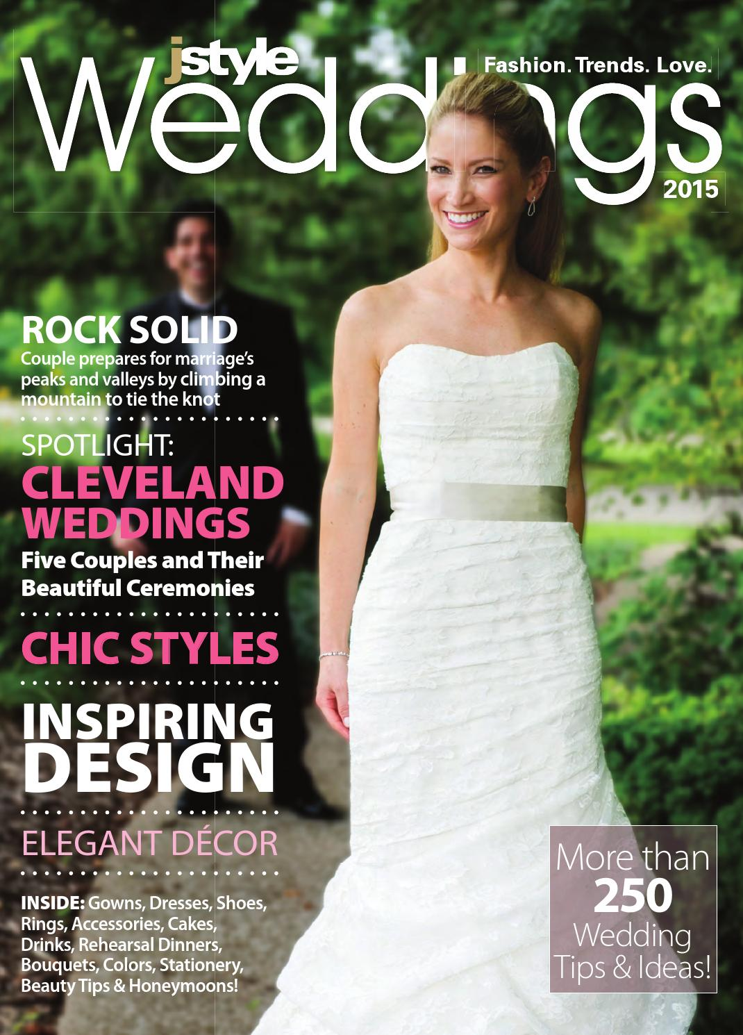 Jstyle Weddings 2015 by Cleveland Jewish Publication Company - issuu