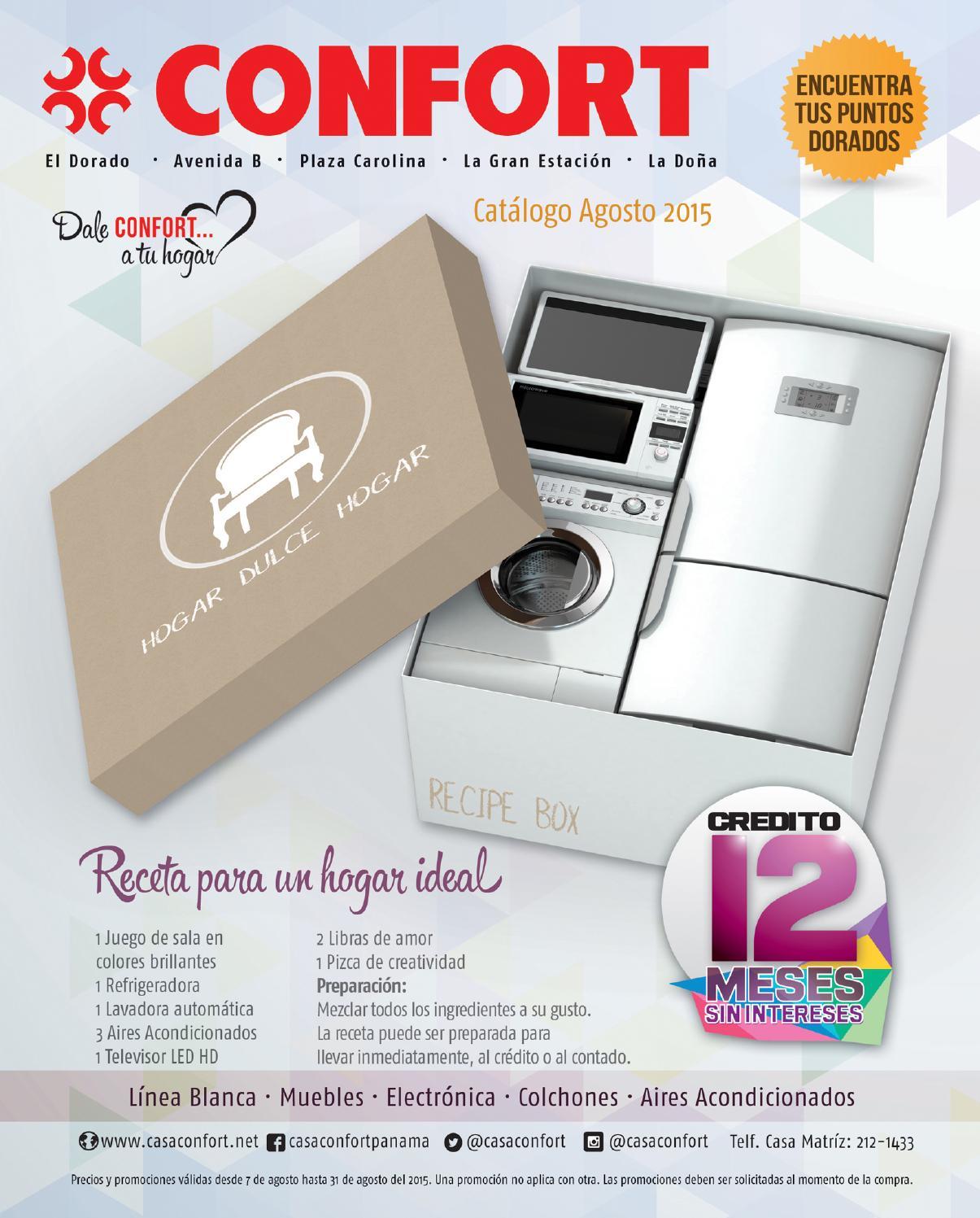 Catalogo confort agosto 2015 by interiores estilo issuu - Muebles martin catalogo ...
