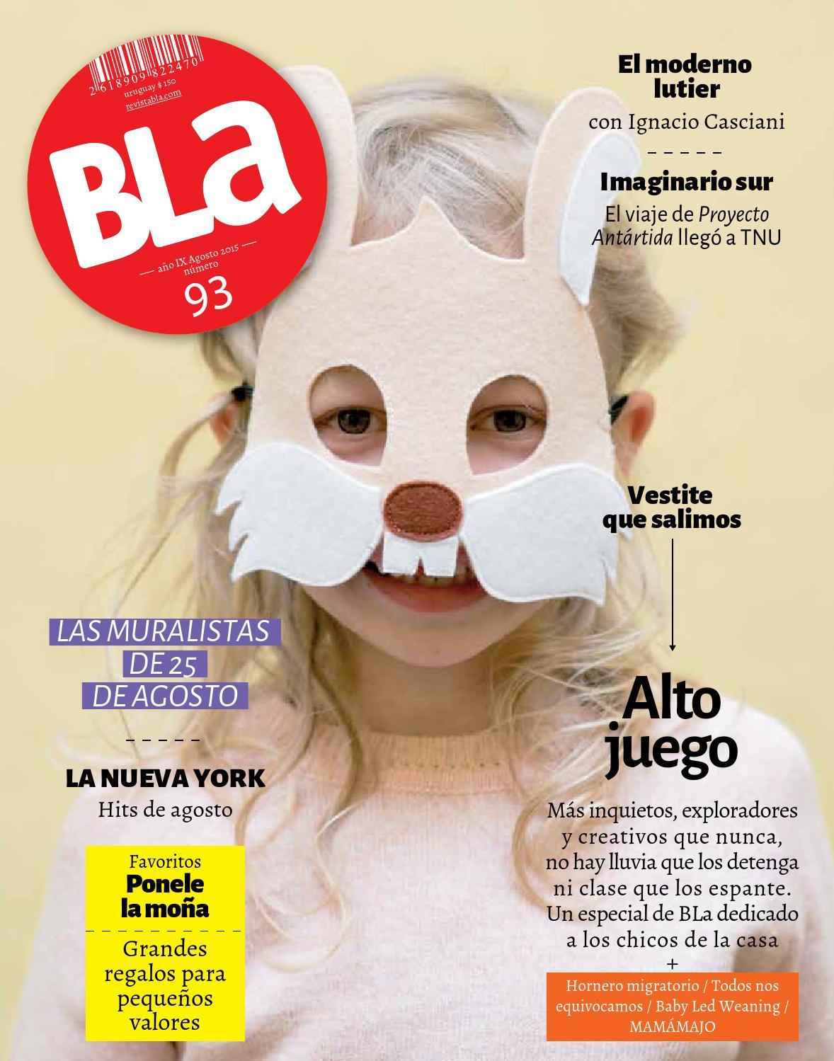 separation shoes 2fb6e ab999 Bla 93 Agosto by Editorial BLa - issuu
