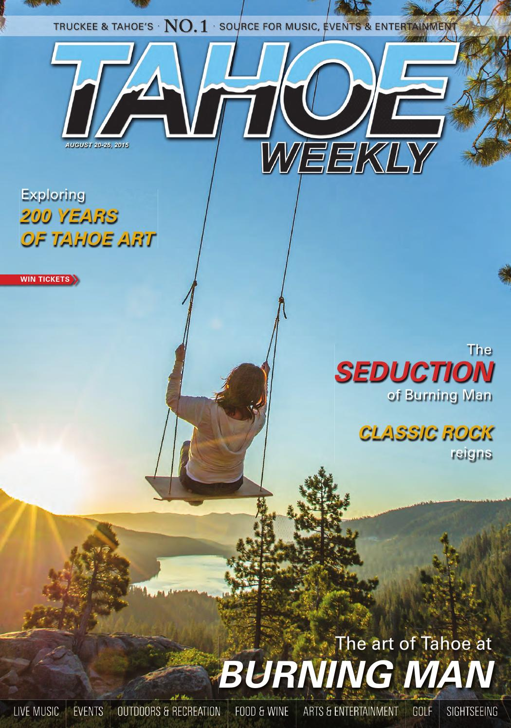 August 20 to August 26 by Tahoe Weekly - issuu f4b75dbc7