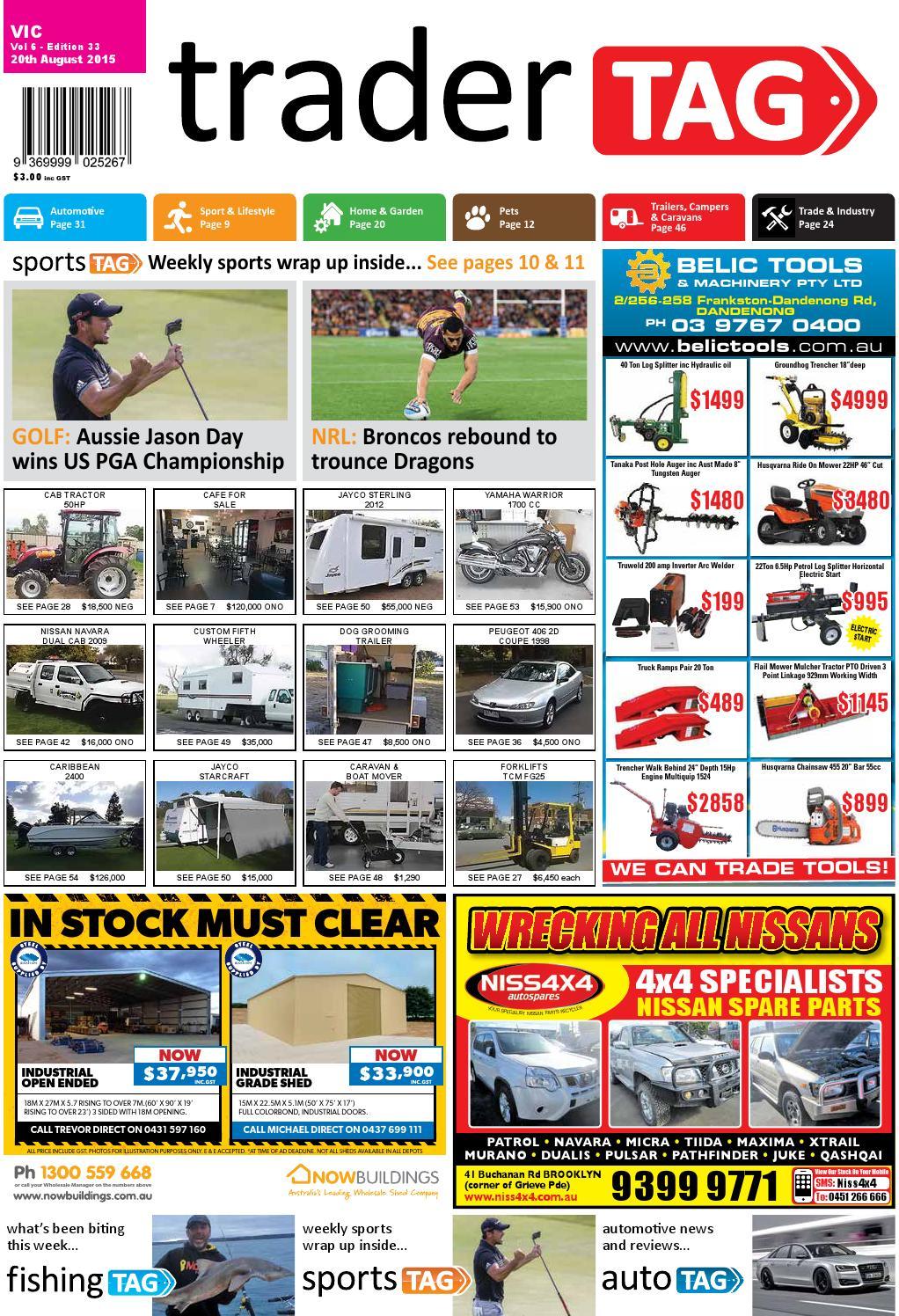 Tradertag Victoria Edition 33 2015 By Design Issuu Stihl 044 Chainsaw Parts Diagram Moreover 041 Av