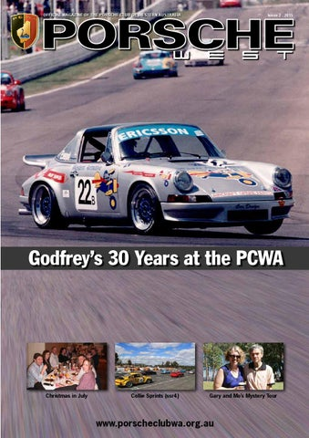 Porsche West issue 2 - 2015 by Composite Colour - issuu