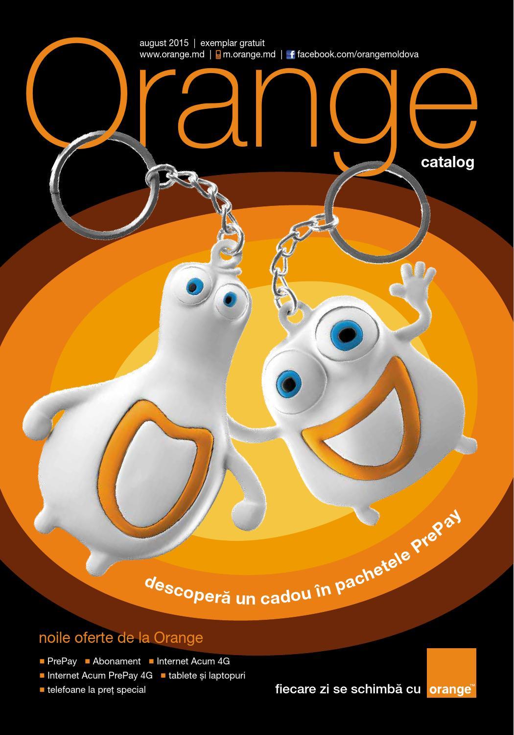 orange reincarcare prepay de pe abonament