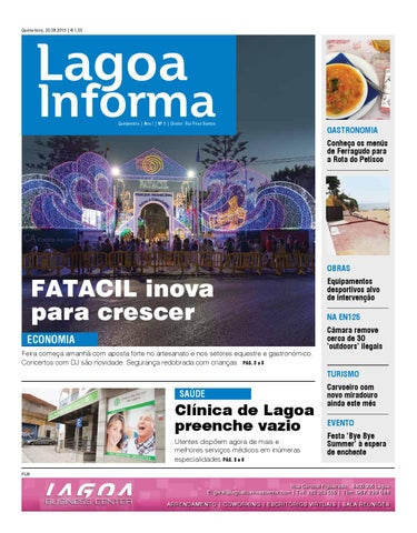 Lagoa informa n61 26102017 by algarve vivo issuu lagoa informa 20 agosto 2015n5 fandeluxe Image collections
