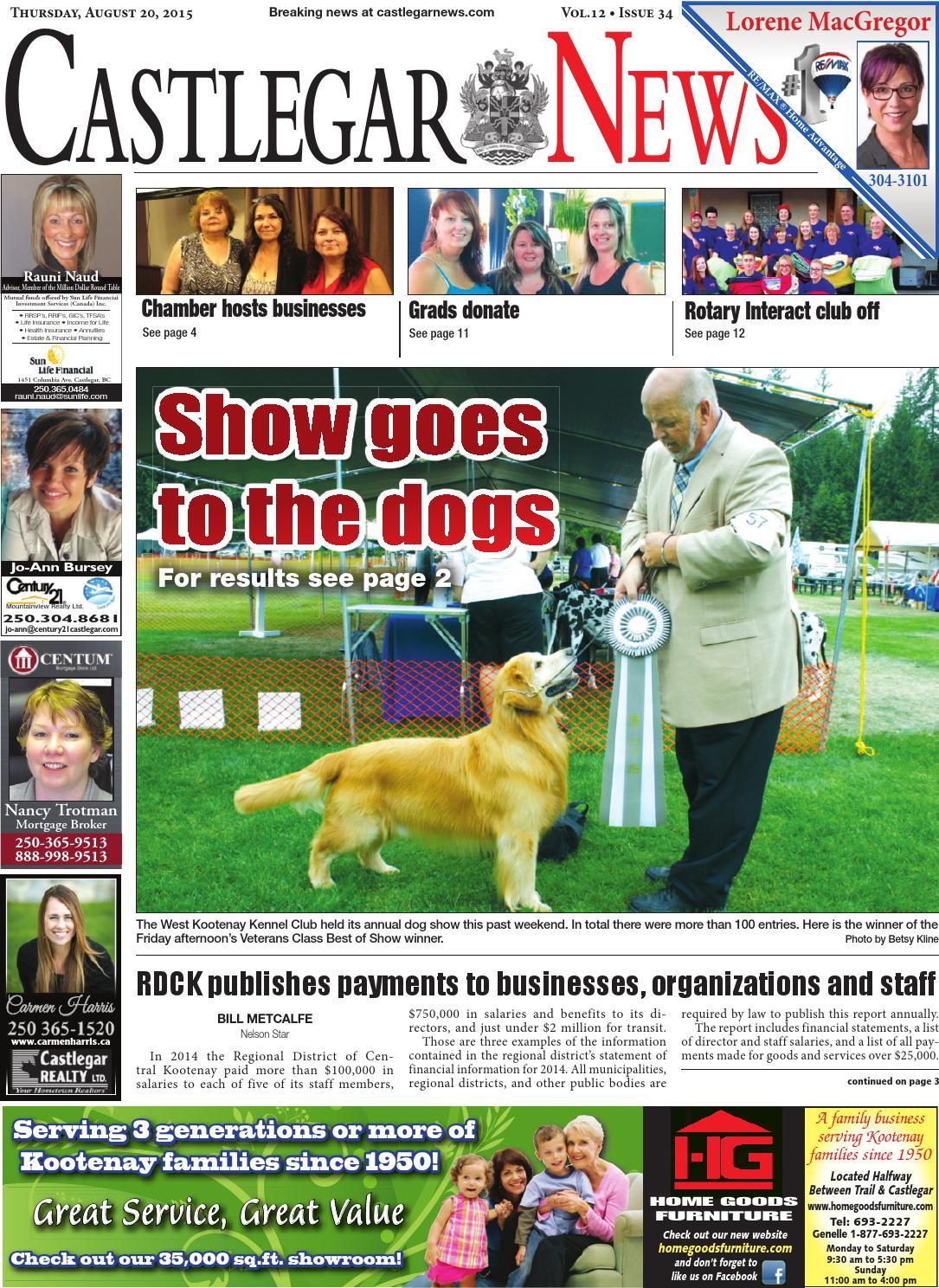 Castlegar News August 20 2015 By Black Press Media Group Issuu