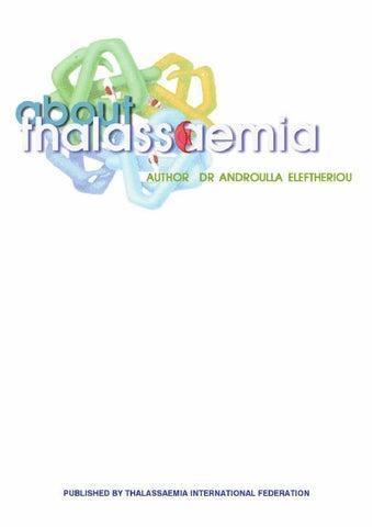 About Thalassaemia German By International Thalassaemia Federation