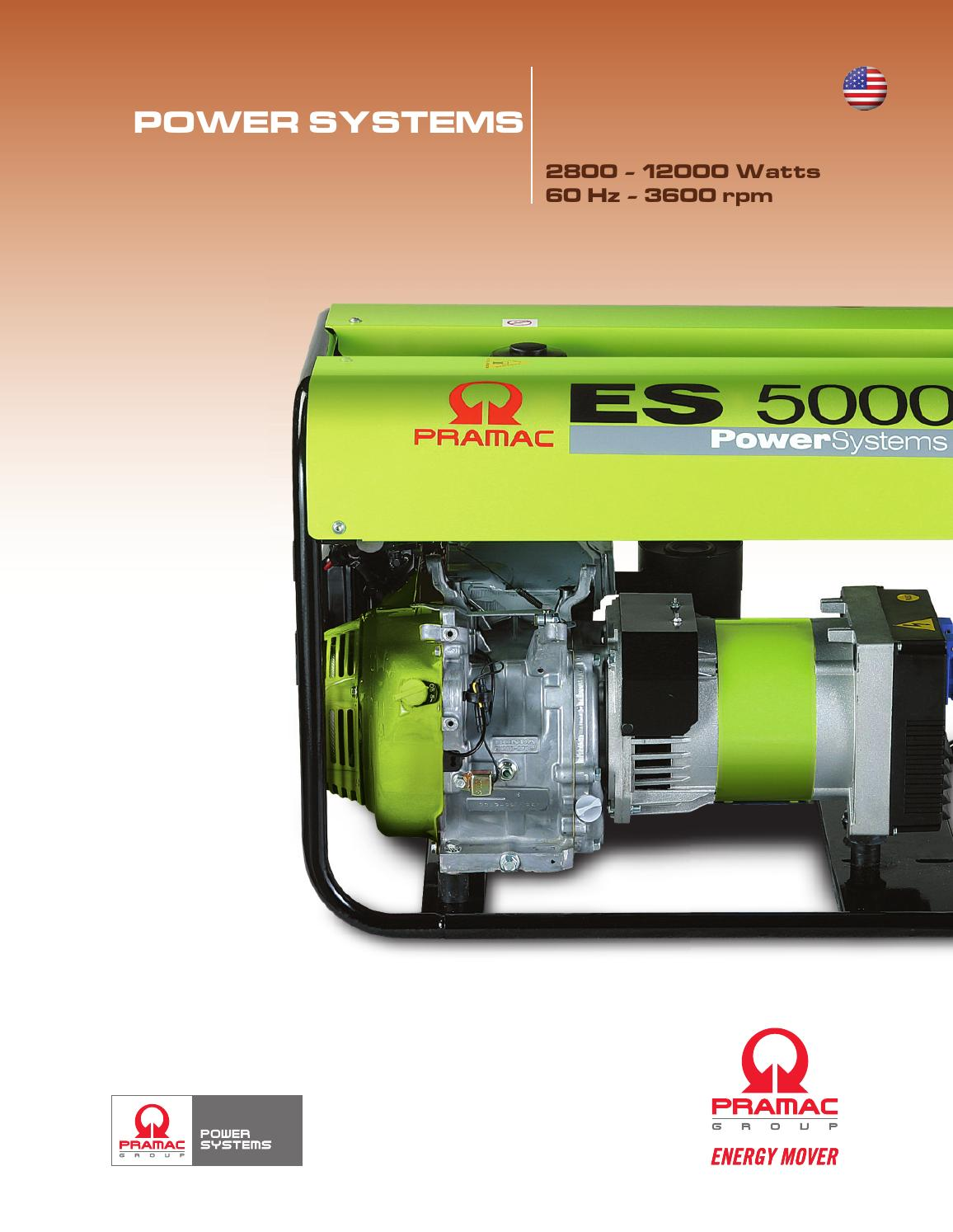 Pramac power systems by protean systems issuu for Protean electric motor for sale