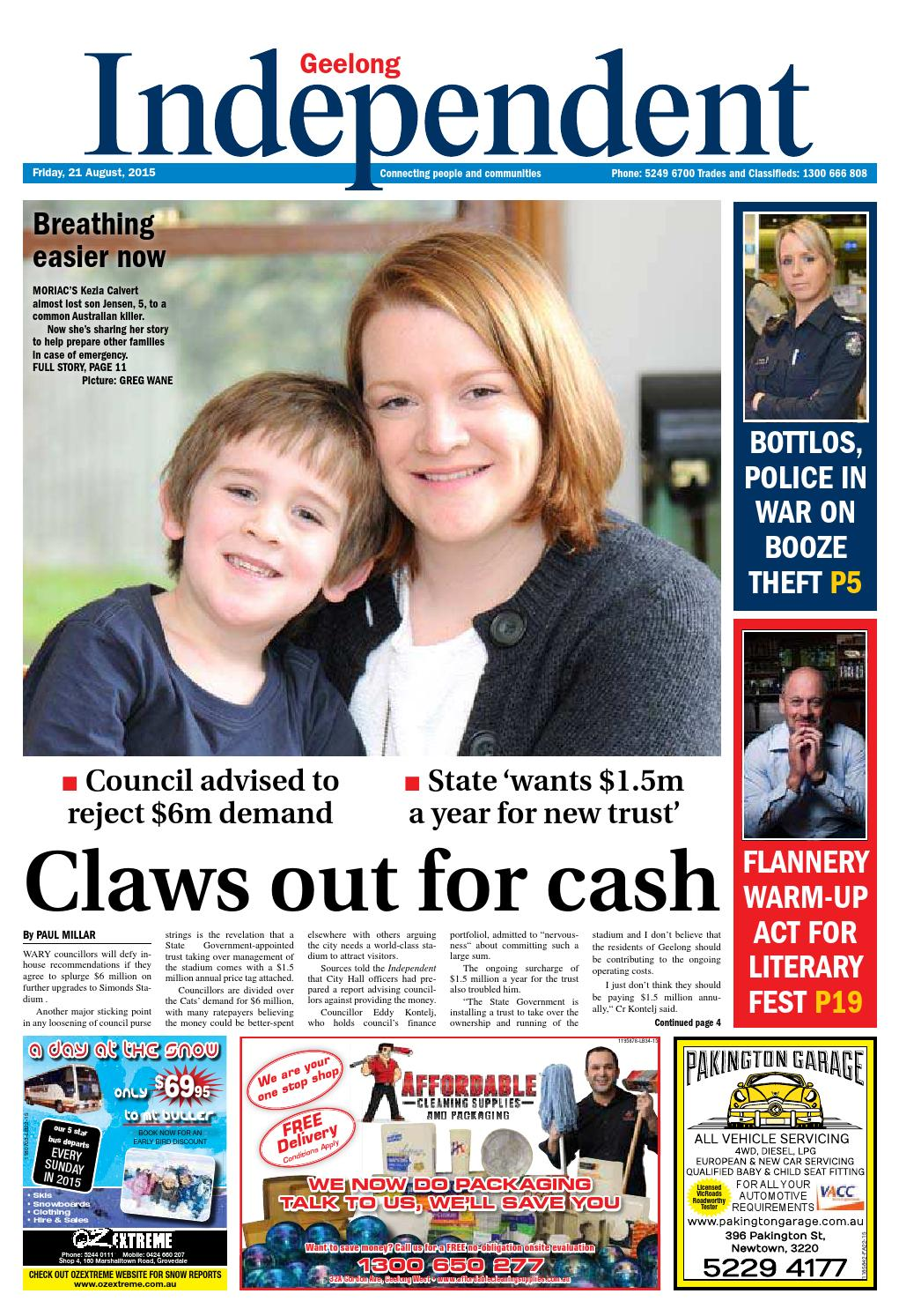 Geelong Independent - 21st August 2015 by Star News Group