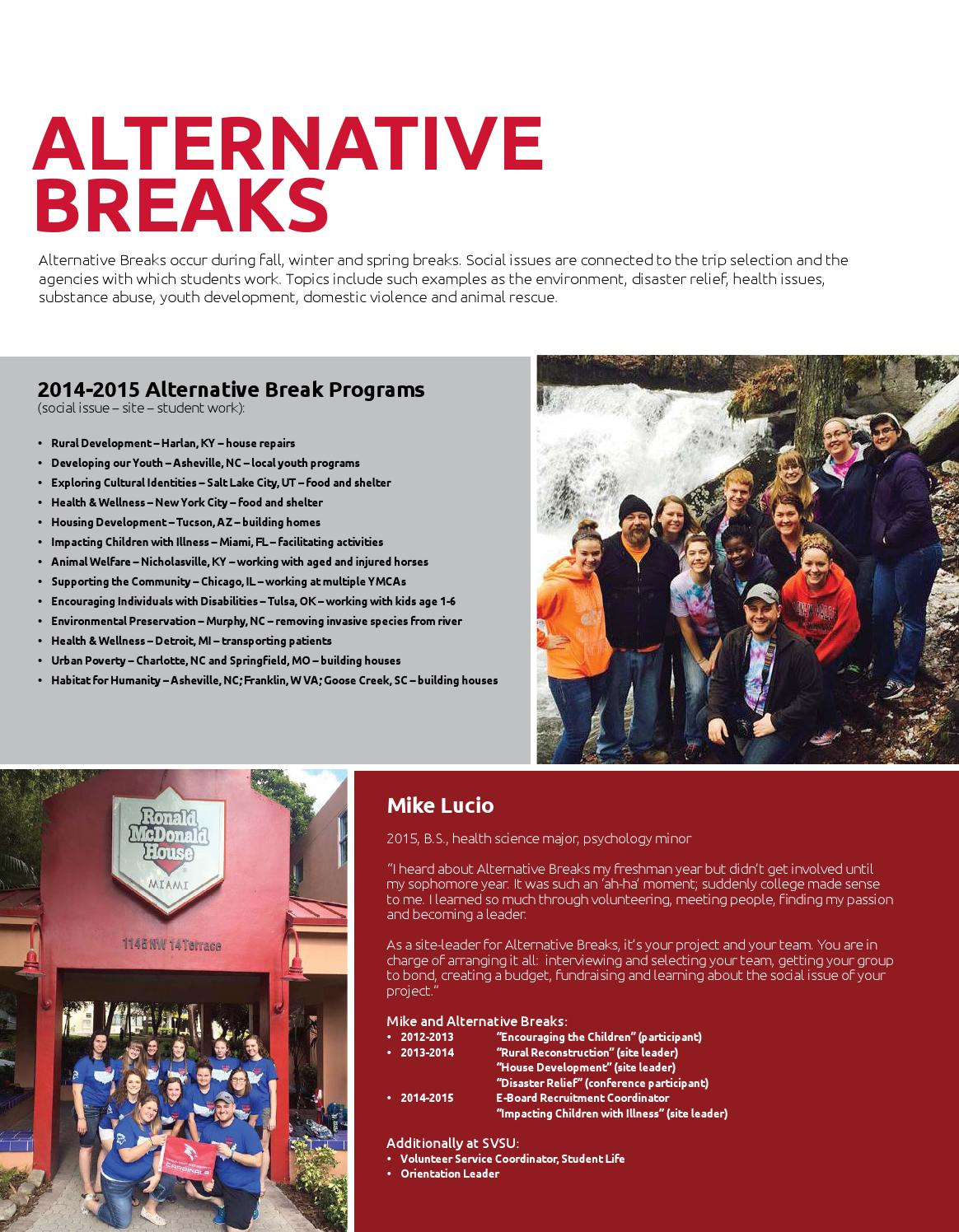SVSU Undergraduate Viewbook 2015-16 by Saginaw Valley State