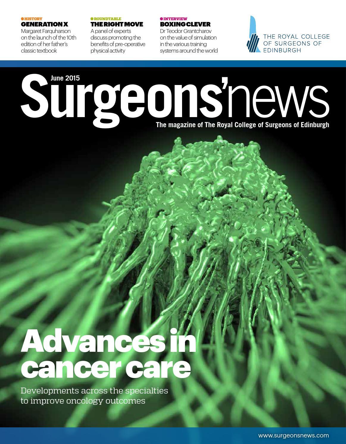 Surgeons' News June 2015 by Think Publishing - issuu
