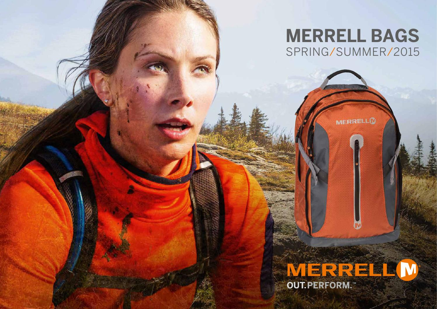 81b2ce5e49 Merrell bags - spring/summer 2015 collections by Grown Up Licenses - issuu