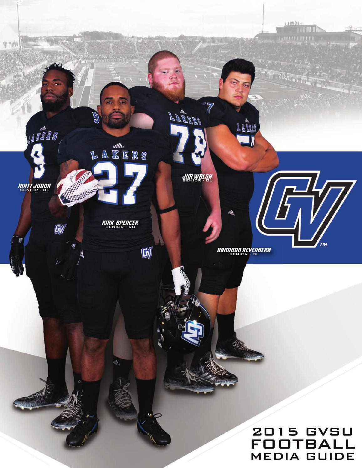 official photos 285fd 85622 2015 Football Media Guide by Grand Valley State Lakers - iss