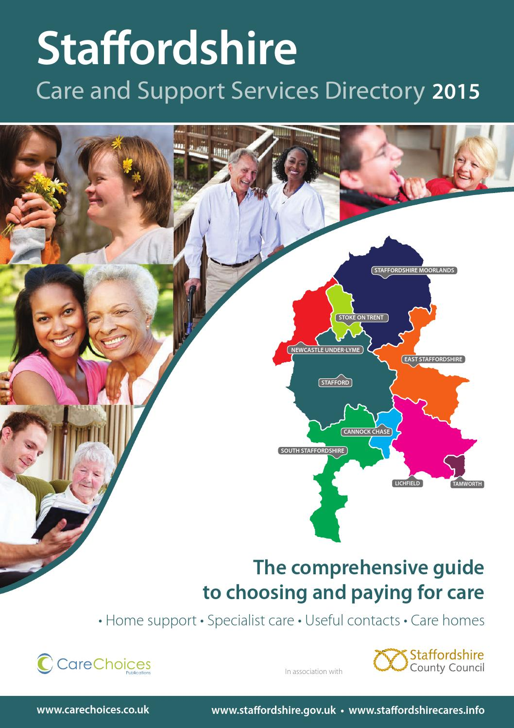 Staffordshire Care And Support Services Directory 2015 By Choices Ltd