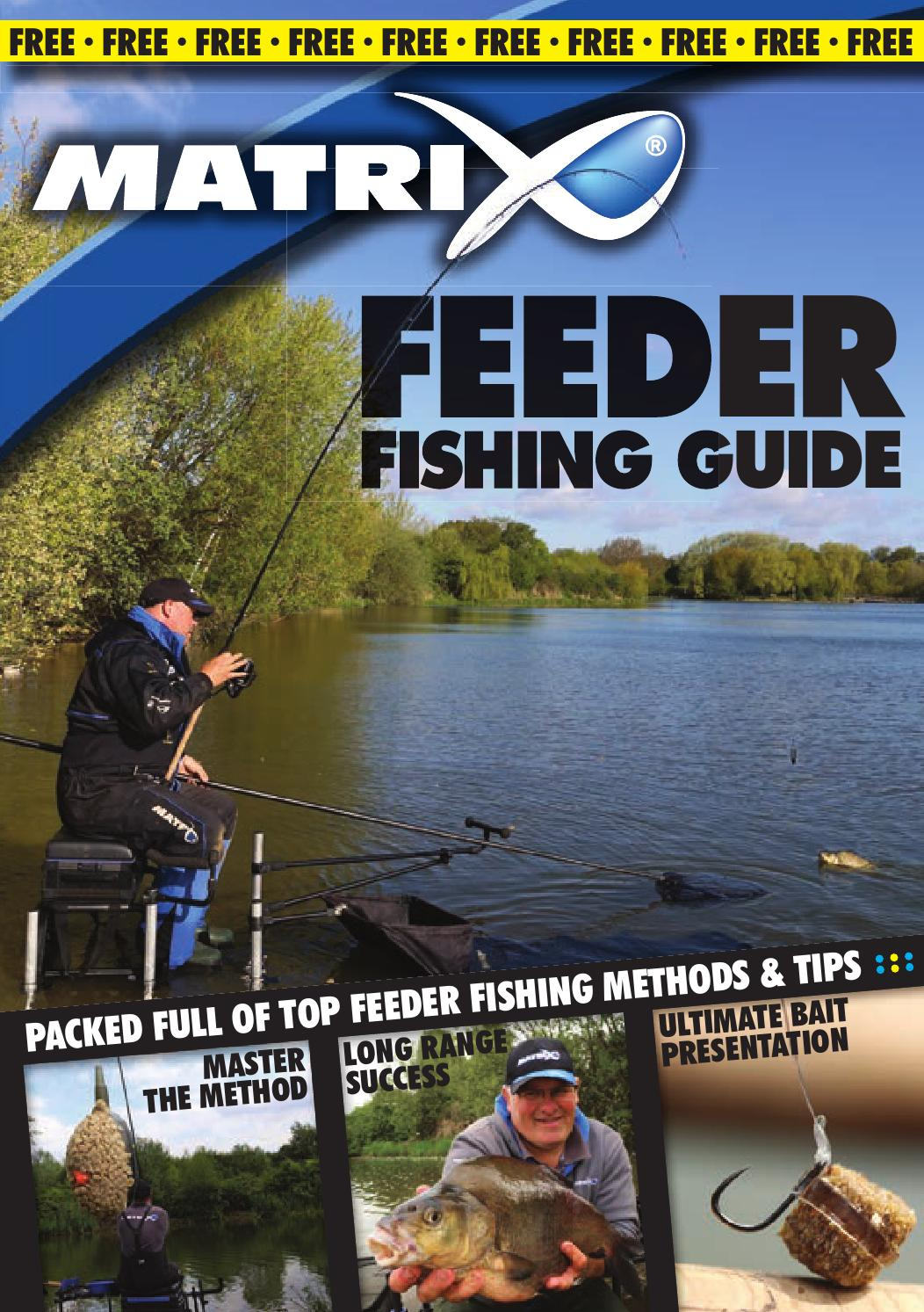 Matrix Feeder Fishing Guide Uk By Fox International