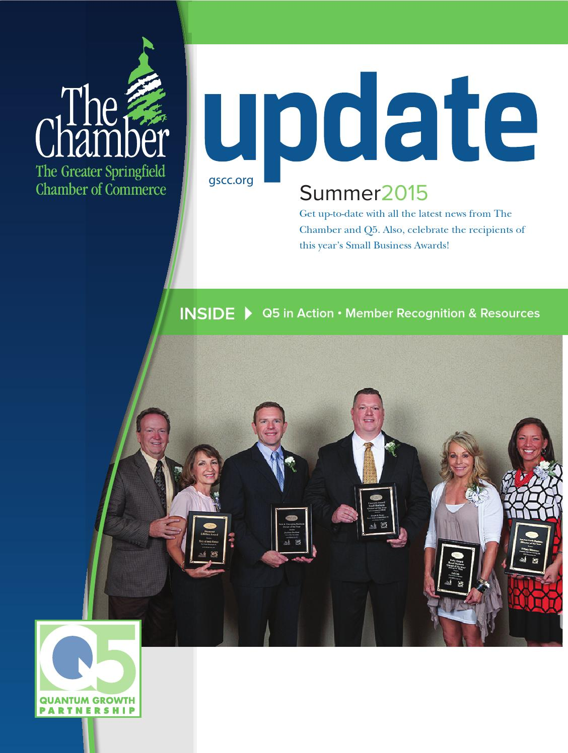 Update Summer 2015 By The Greater Springfield Chamber Of