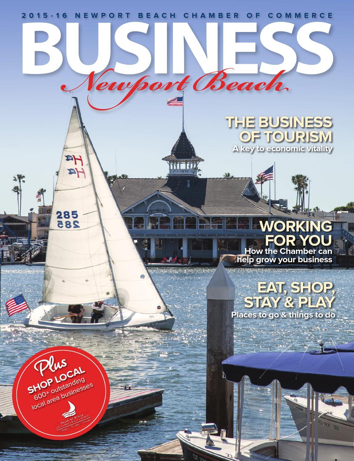 Newport business magazine 2015-2016 by Chamber Marketing Partners