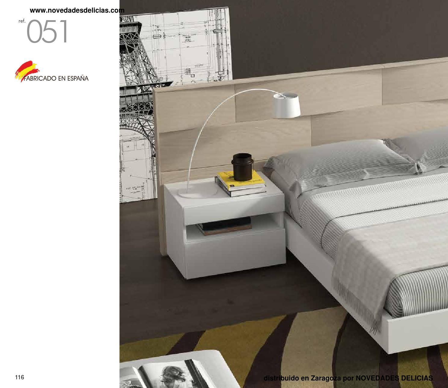 Cat logo dormitorio moderno zaragoza by cat logo de - Novedades delicias ...