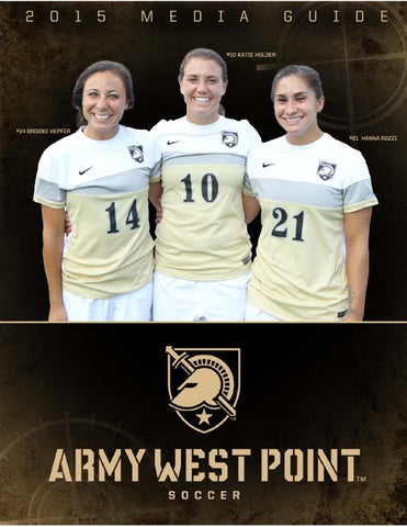 f57998ef0 2015 Army West Point Women s Soccer Media Guide by Army West Point ...