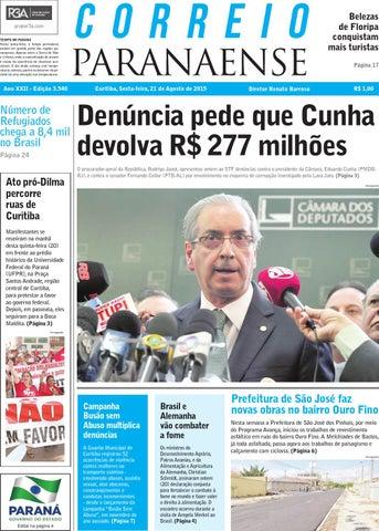 778deb71a240f Correio Paranaense - Edição 21 08 2013 by Editora Correio Paranaense ...