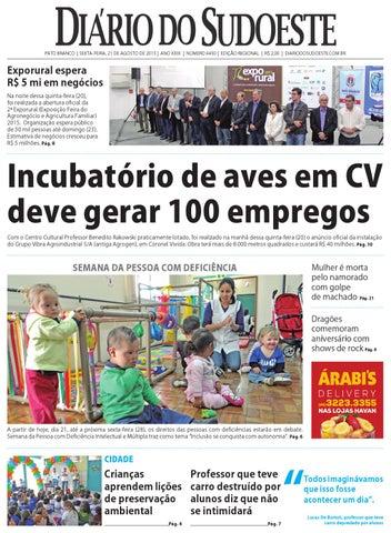 Diário do sudoeste 21 de agosto de 2015 ed 6450 by Diário do ... b3fd43ca28
