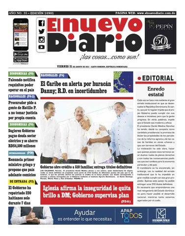 El Nuevo Diario by El Nuevo Diario - issuu 4b1aa05b7429