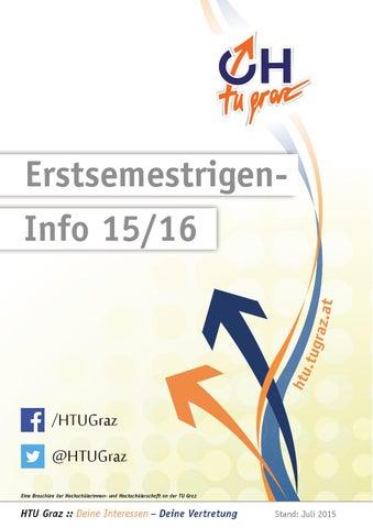 Erstsemestrigen-Info 2015/16 by HTU Graz - issuu