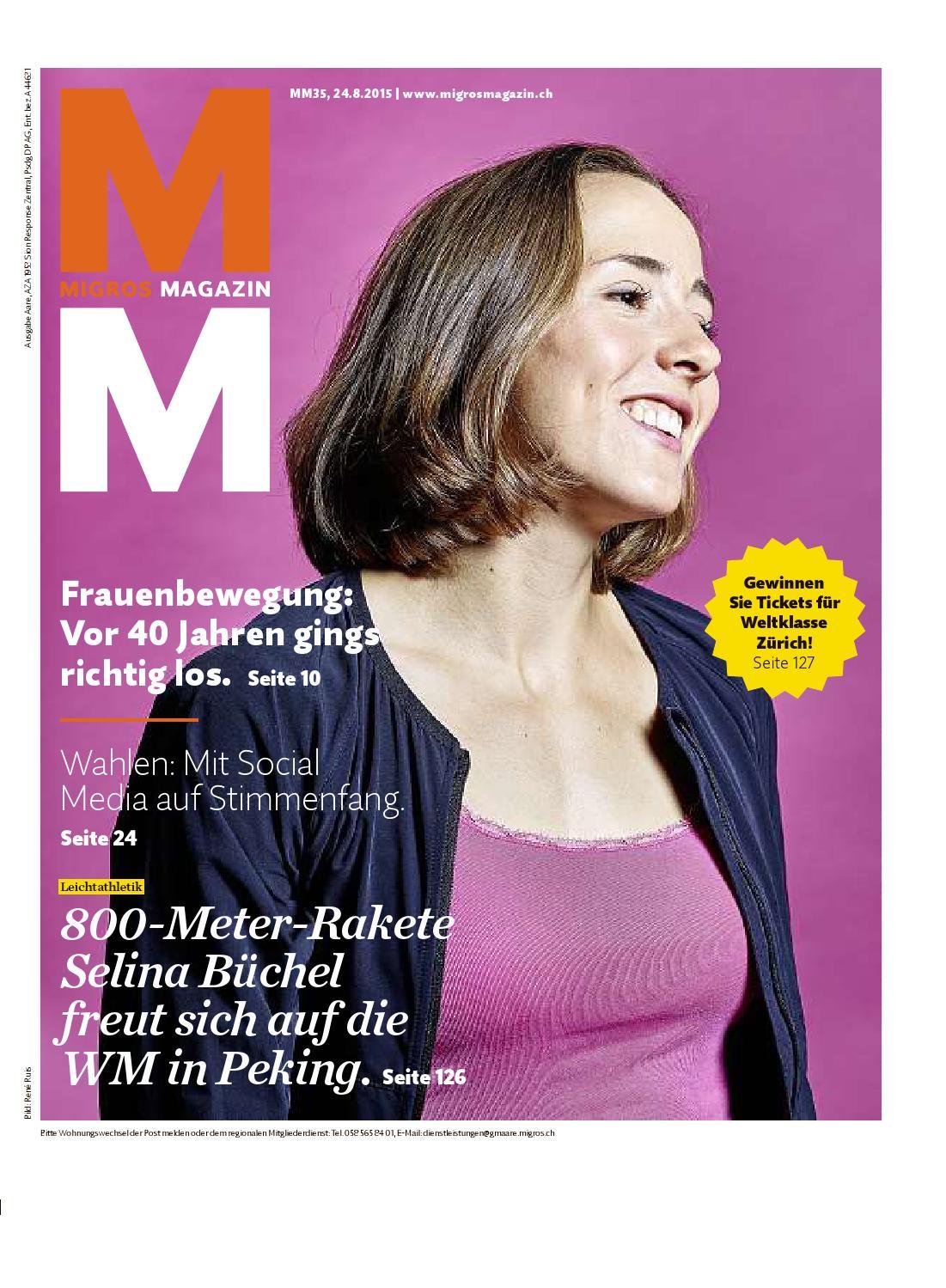 Migros magazin 35 2015 d aa by Migros-Genossenschafts-Bund - issuu