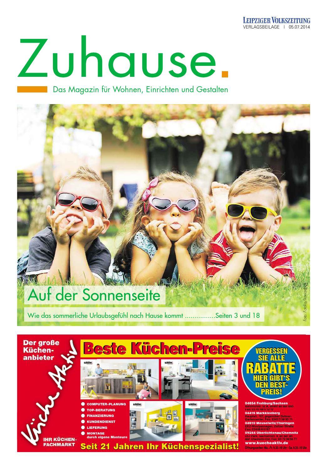 Zuhause. Juli 2014 | Das Magazin für Wohnen, Einrichten und ...