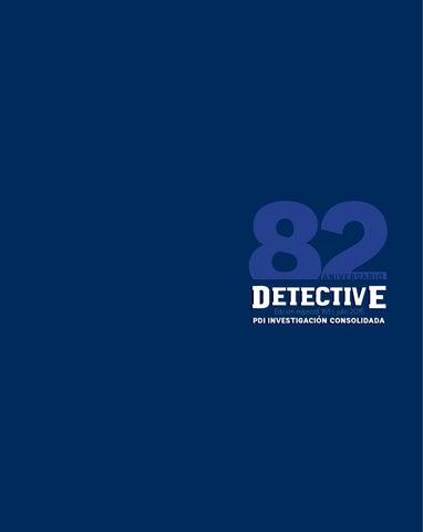 Revista Detective Edición N° 165 by Policía de Investigaciones de ... 92b8f1c06133a