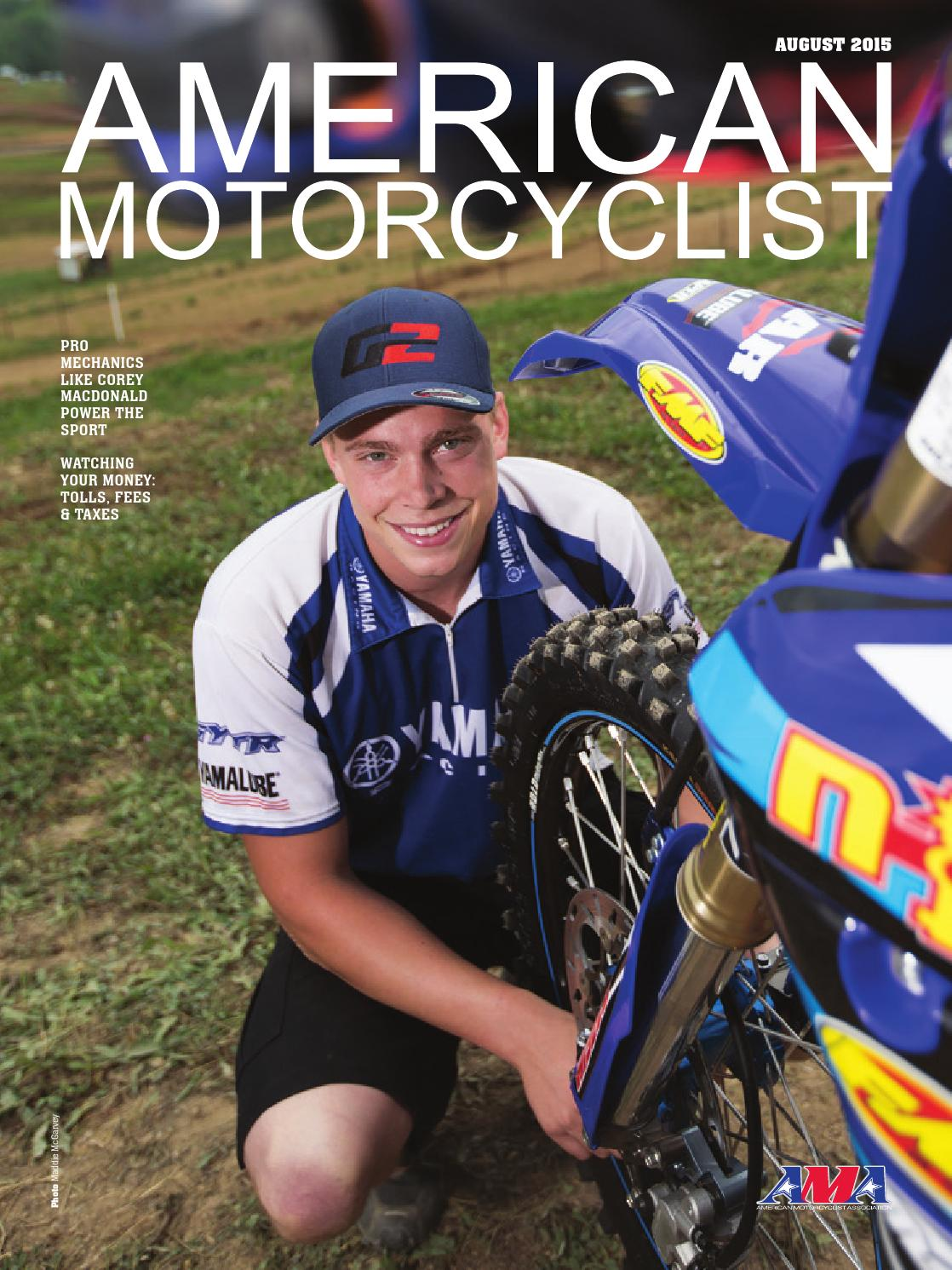 marvelous american motorcyclist #4: American Motorcyclist August 2015 Dirt (preview version) by American  Motorcyclist Association - issuu