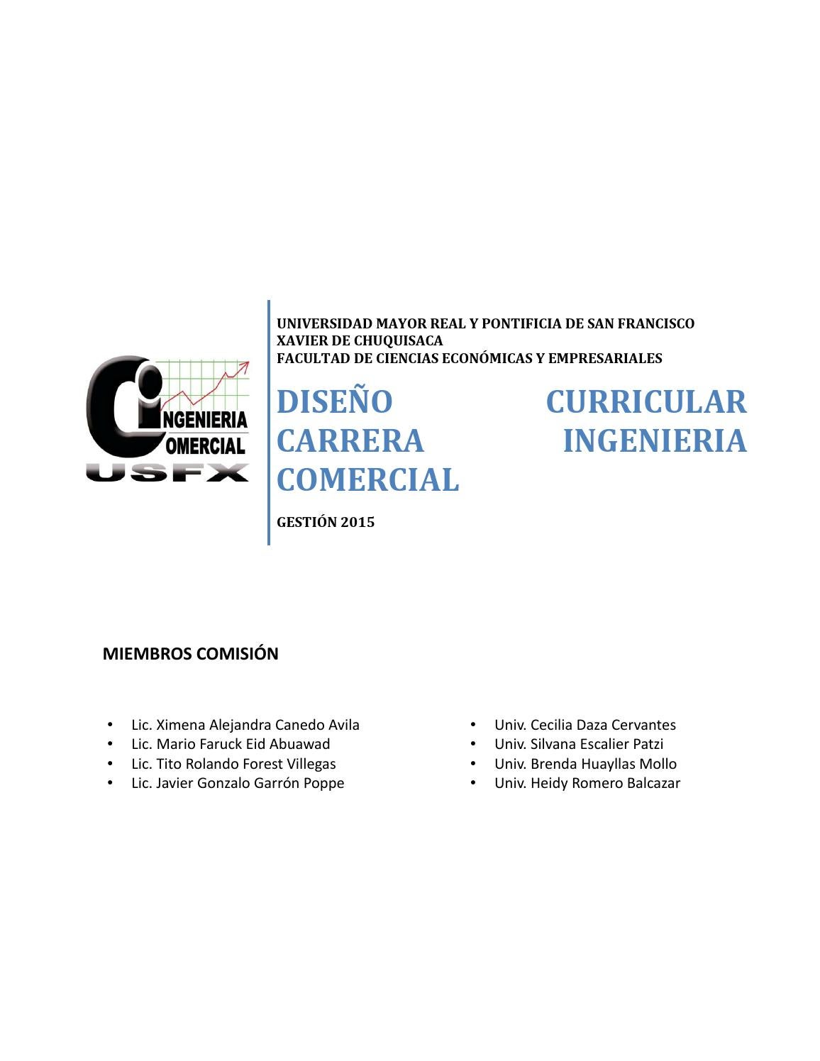 Diseño curricular ing comercial by tannyk - issuu
