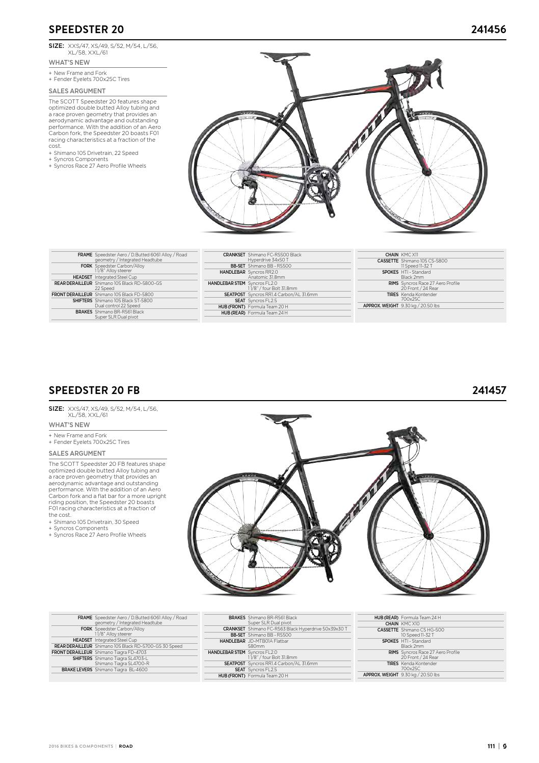 32357a3f143 Scott Sports 2016 Bikes components workbook by Rullens Tweewielers Made -  issuu