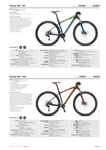 bab2d8909ad Scott Sports 2016 Bikes components workbook by Rullens Tweewielers ...