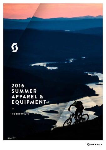 Scott Sports 2016 Apparel equipment workbook by Rullens Tweewielers ... c59b9ba3dede