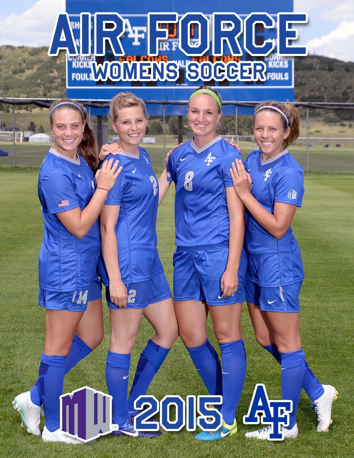 2015 Air Force Women s Soccer Media Guide by Nick Arseniak - issuu 721278ed4