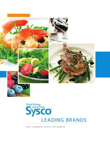 Sysco Brands Book 2015 By Sysco Hampton Roads Issuu