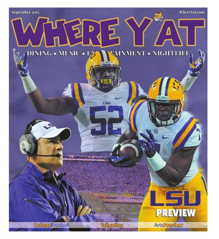 College Football Issue 2015 by Where Y at Magazine - issuu c1f418594
