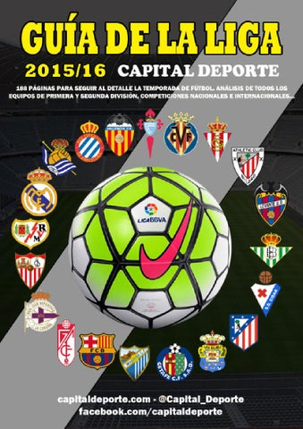 Guia de la Liga 2015 16 Capital Deporte by Capital Deporte - issuu 0e49eff11f07d