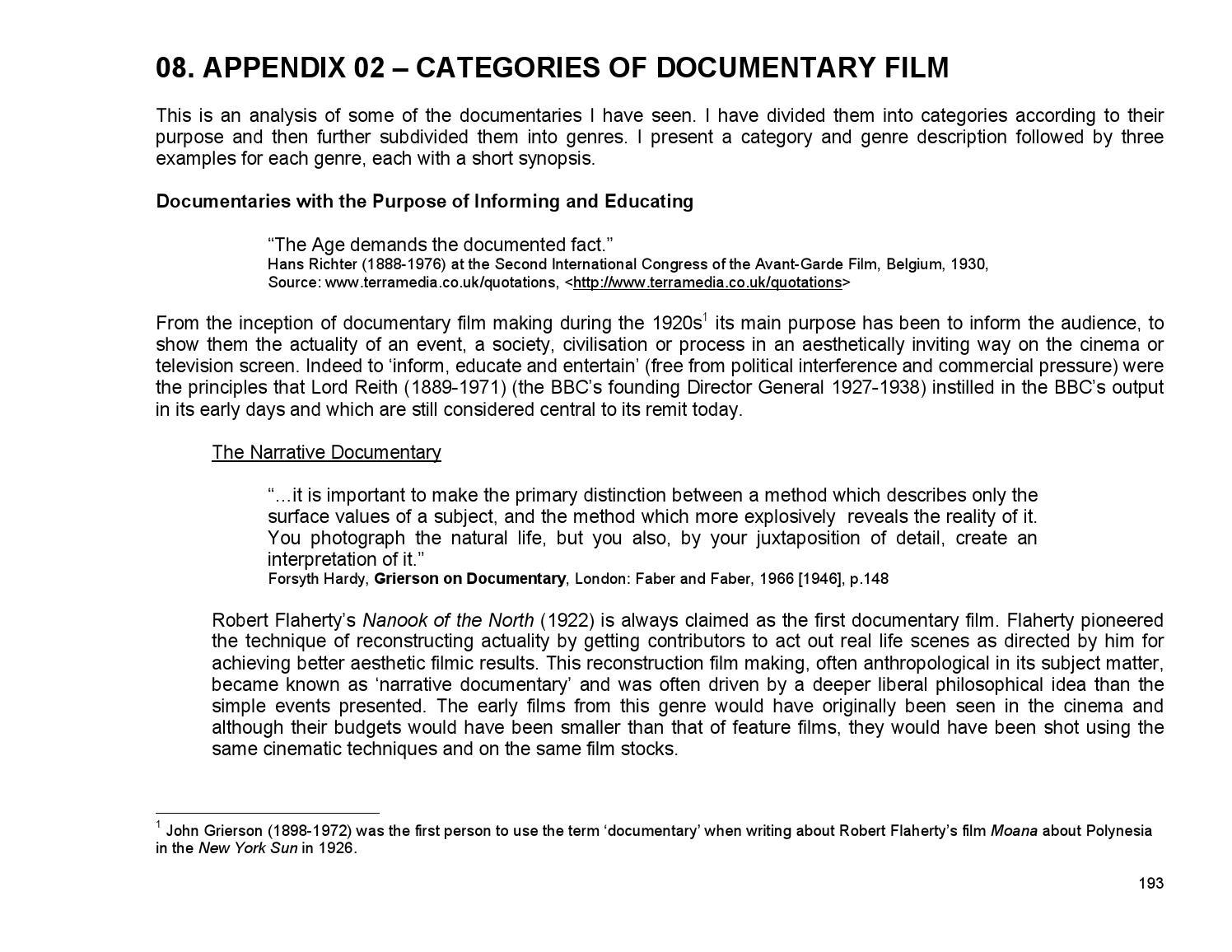 Appendix 02 Cat Doc Film By Adele Carroll Issuu