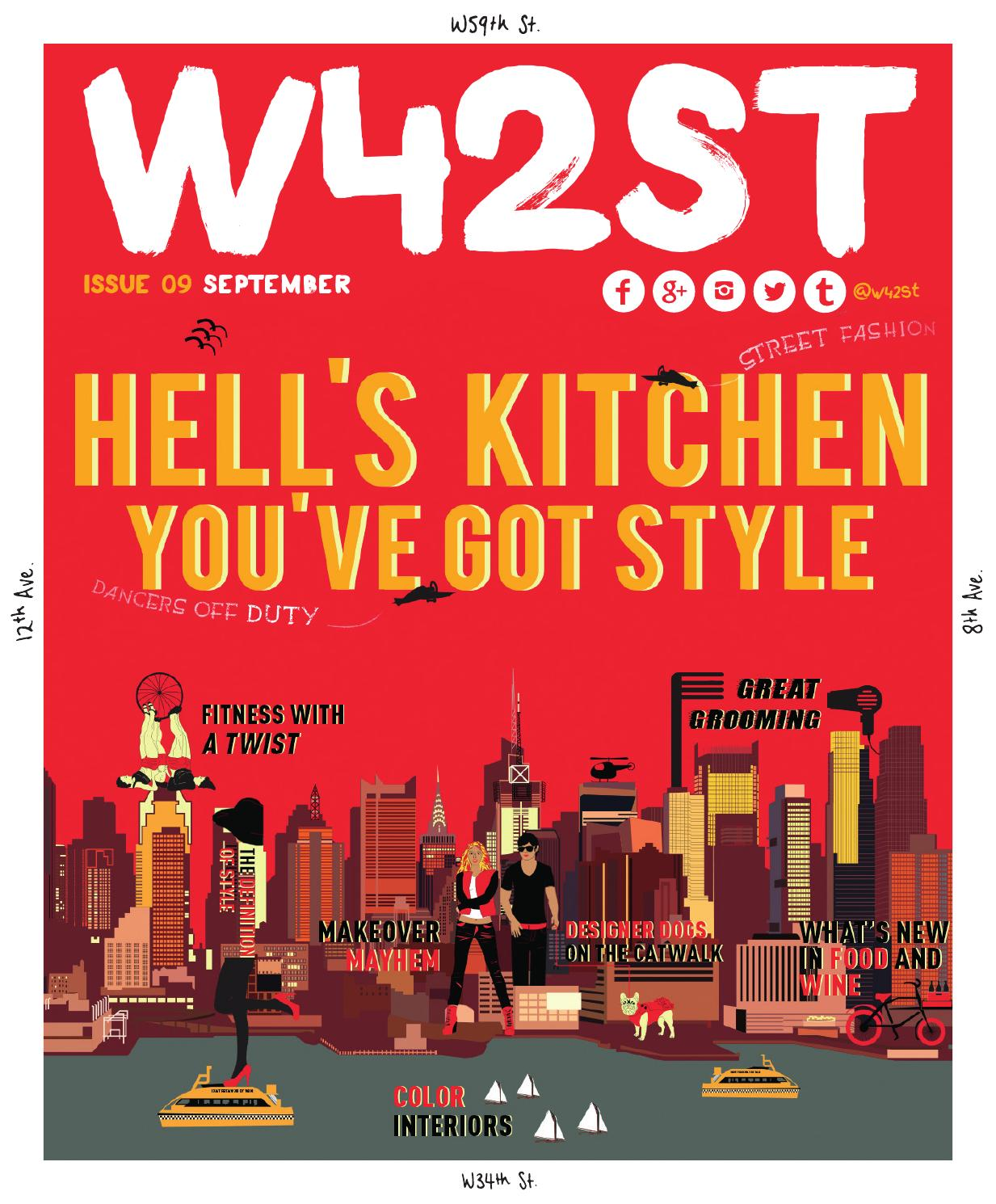 foto de W42ST Magazine Issue 9 - Hell's Kitchen, You've Got Style by W42ST ...