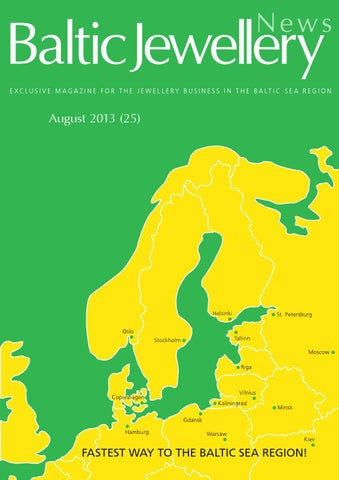 7fe8774cbe9a Baltic Jewellery News (August 2015) No. 25 by Baltic Jewellery - issuu