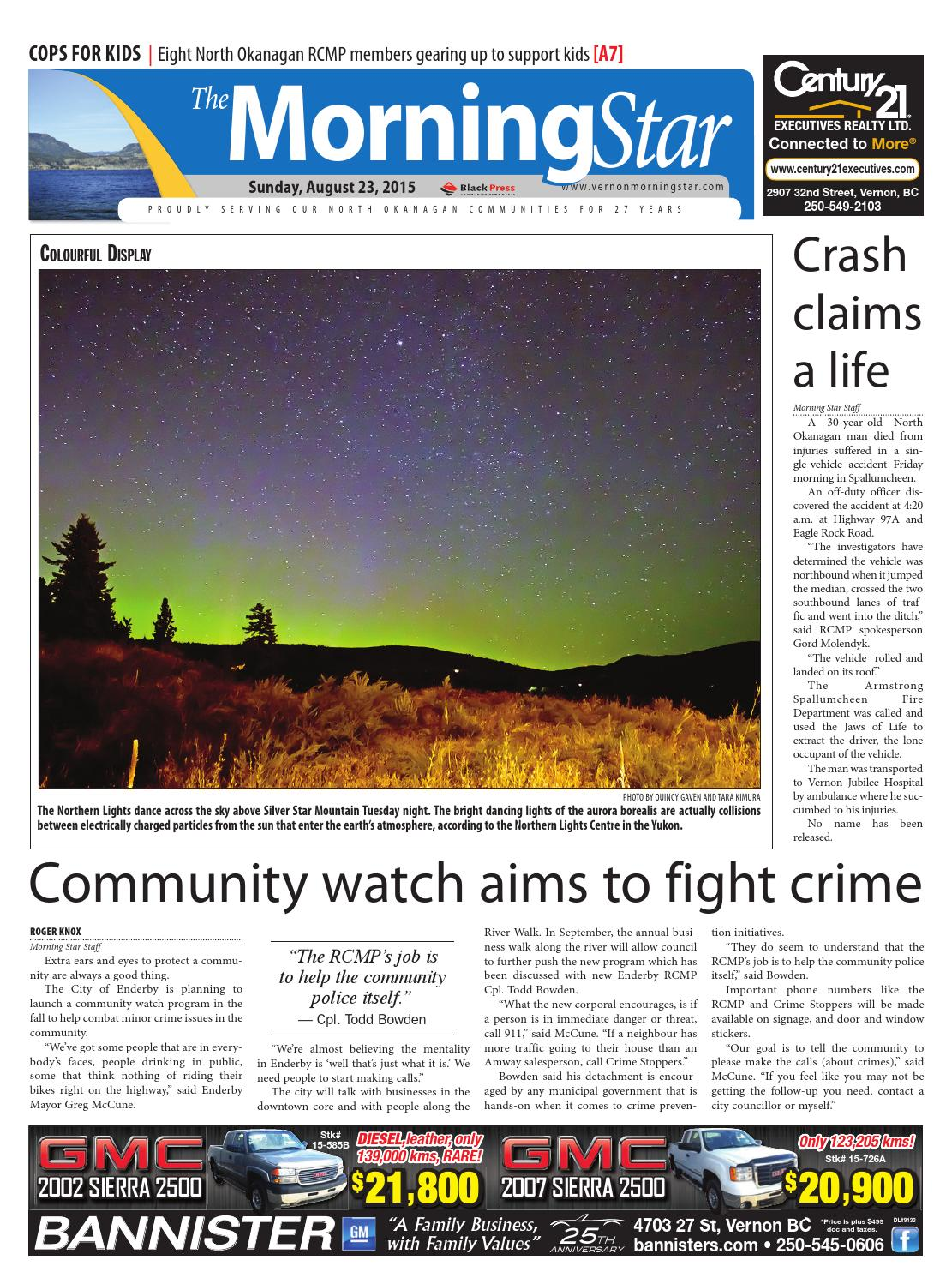 Vernon Morning Star August 23 2015 By Black Press Issuu Introduction To Electronics Dc Ac Circuits Stephen C Harsany