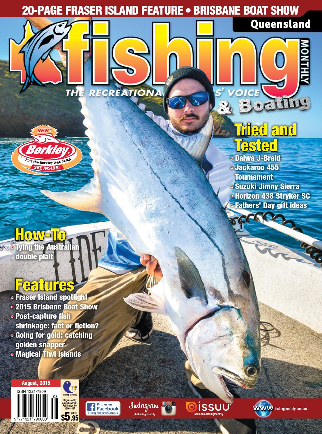 Queensland Fishing Monthly September 2016 By Issuu Lowrance Sonic Hub Wiring Diagram