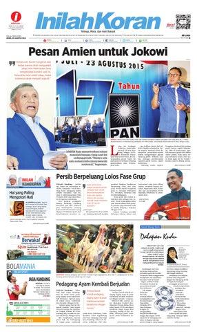 Pesan Amien untuk Jokowi by inilah koran - issuu 9c2411f2a8