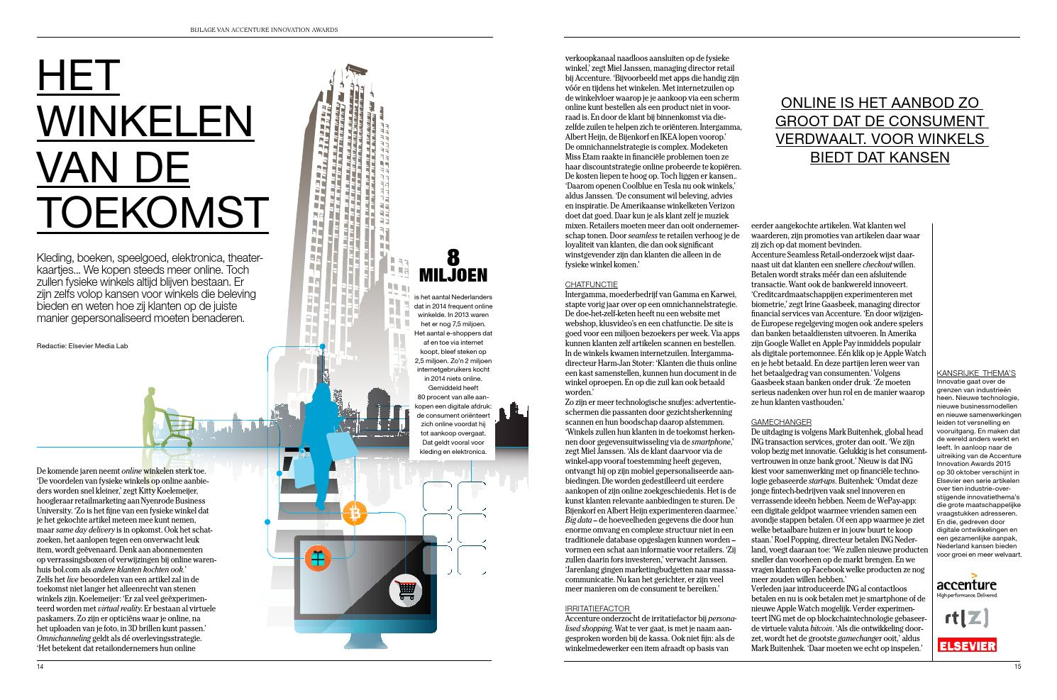 Internet Winkels Kleding.Elsevier2015accenturesmartshoppingpdfdefdef By Reed Business Issuu