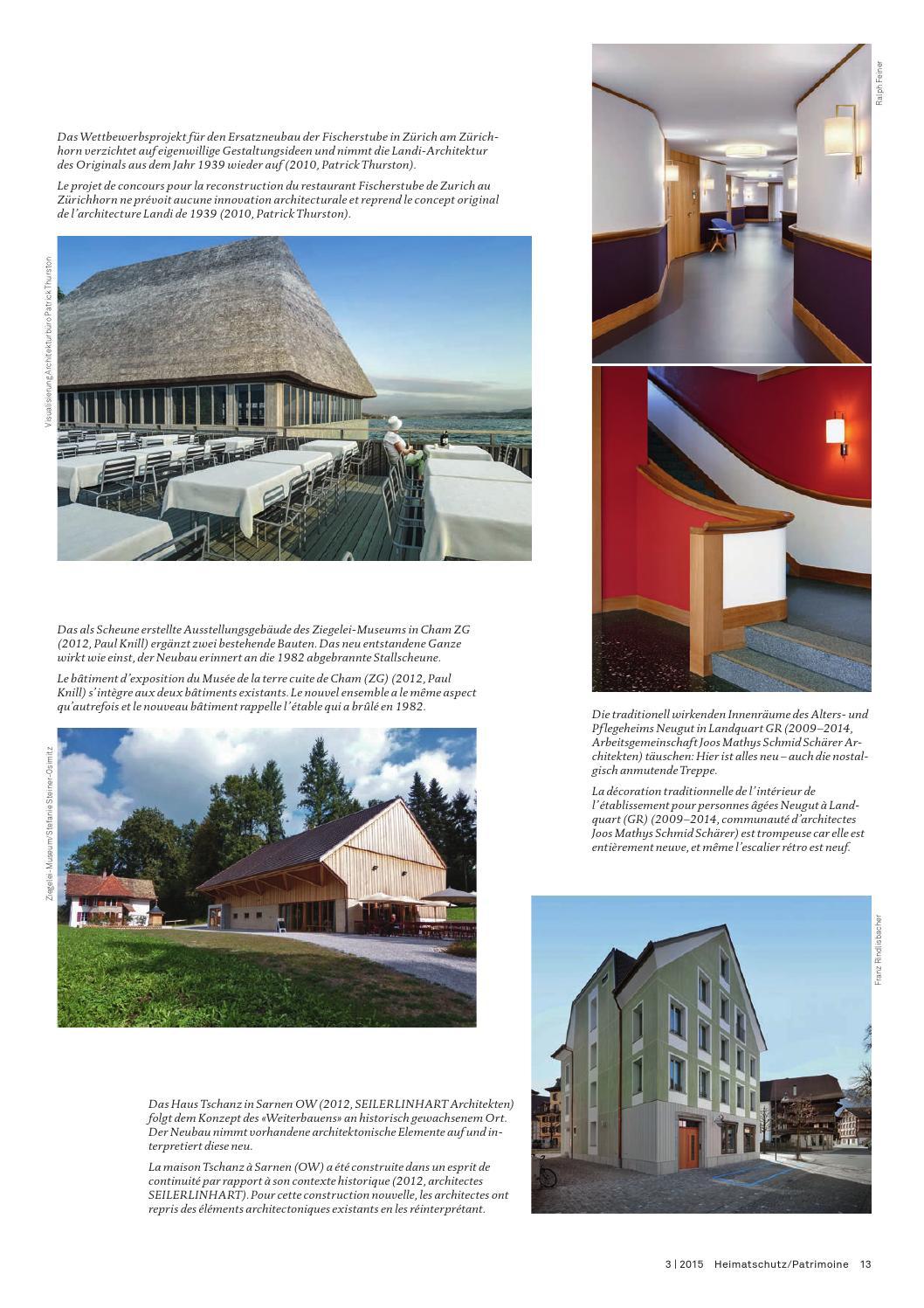 Heimatschutz/Patrimoine 3-2015 by Schweizer Heimatschutz - issuu