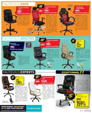 Conforama Catalogue 19aout 29septembre2015 By