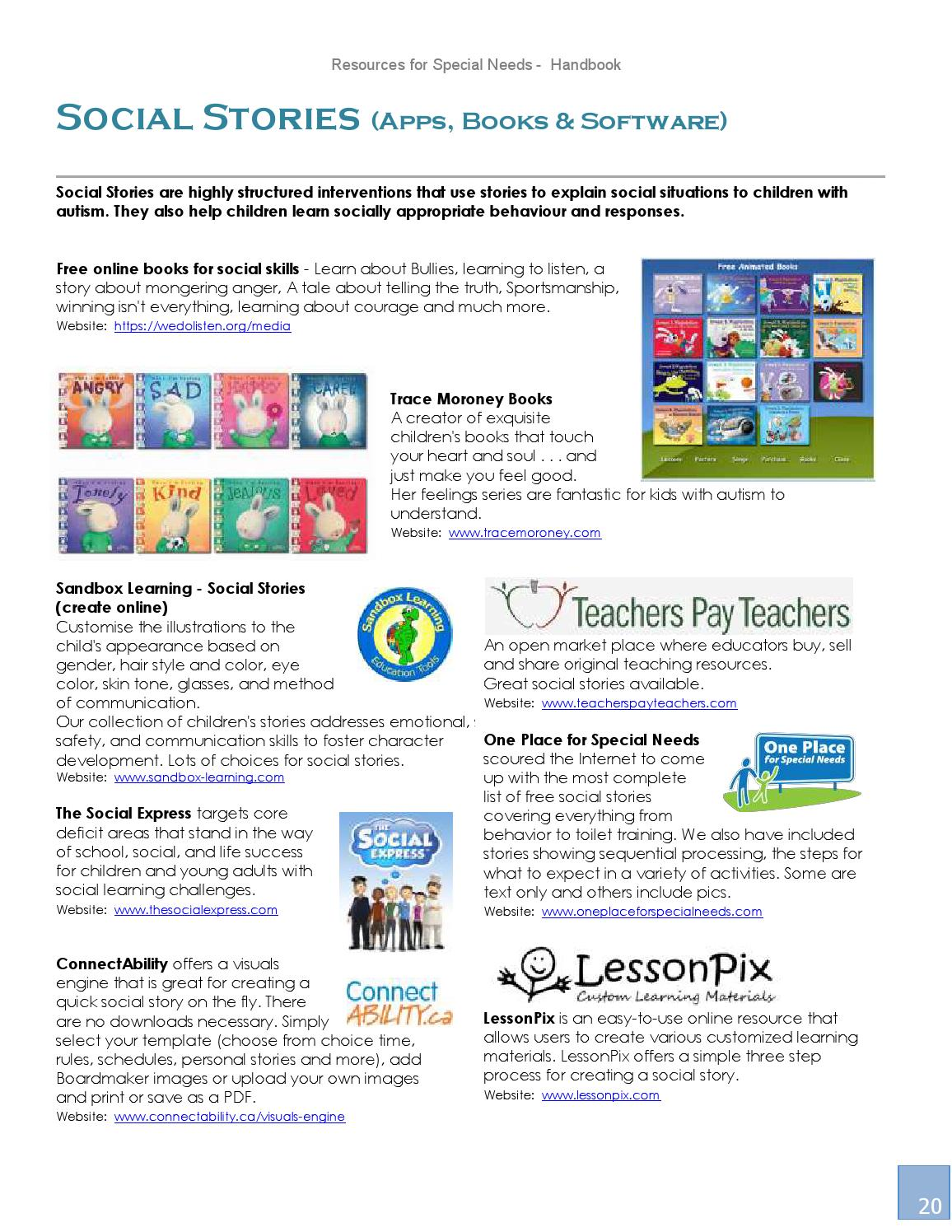 Online Handbook For Special Needs >> Resources For Special Needs Handbook 2015 By Autism World Magazine